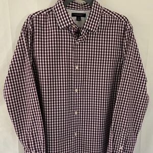 Banana Republic Non-Iron Slim Fit Men's Button Up